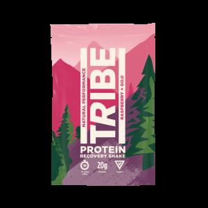 Tribe protein shake raspberry